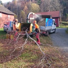 Flishugging i Porsgrunn, Telemark